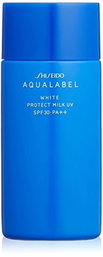 準備するつかまえるしたいアクアレーベル ホワイトプロテクトミルクUV (日中用美容液) (SPF30?PA++) 50mL