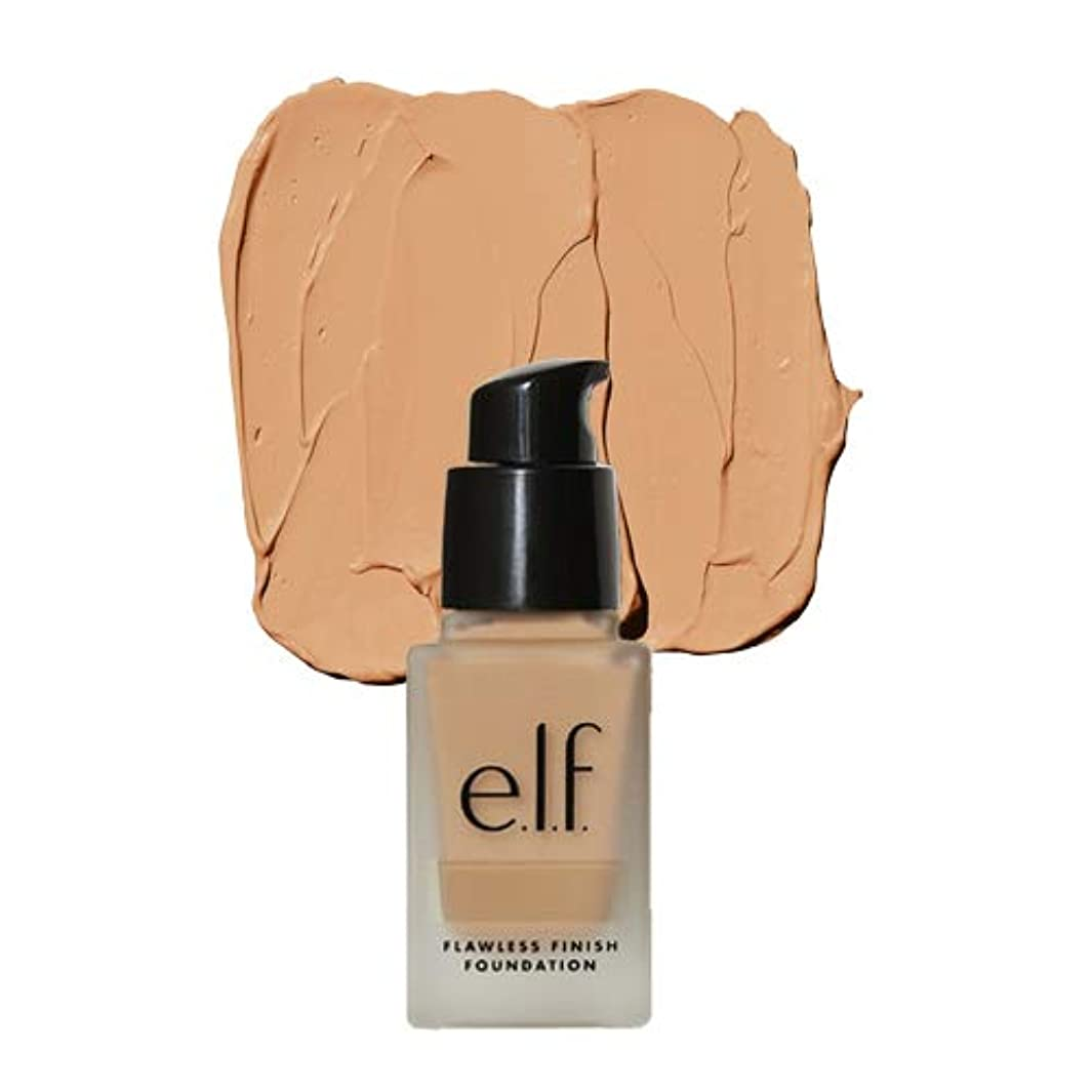 故意に小売判決(3 Pack) e.l.f. Oil Free Flawless Finish Foundation - Toffee (並行輸入品)