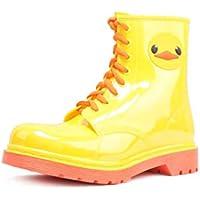 MEIGUIshop Rain Boots - Waterproof Non-Slip Jelly Boots Martin rain Boots Water Shoes