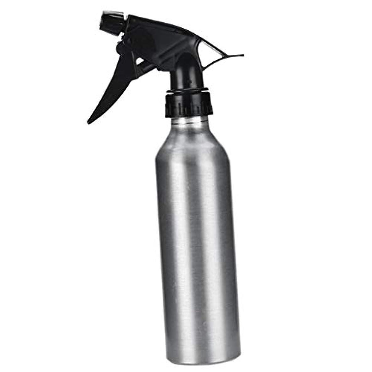 モニカ資本主義フェローシップアルミ スプレーボトル 化粧品ボトル 霧吹き 詰め替え容器 漏れ防止 園芸料理用美髪師用噴霧器全2色 - 銀