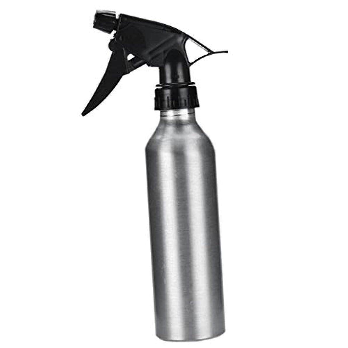 感情人類体細胞アルミ スプレーボトル 化粧品ボトル 霧吹き 詰め替え容器 漏れ防止 園芸料理用美髪師用噴霧器全2色 - 銀