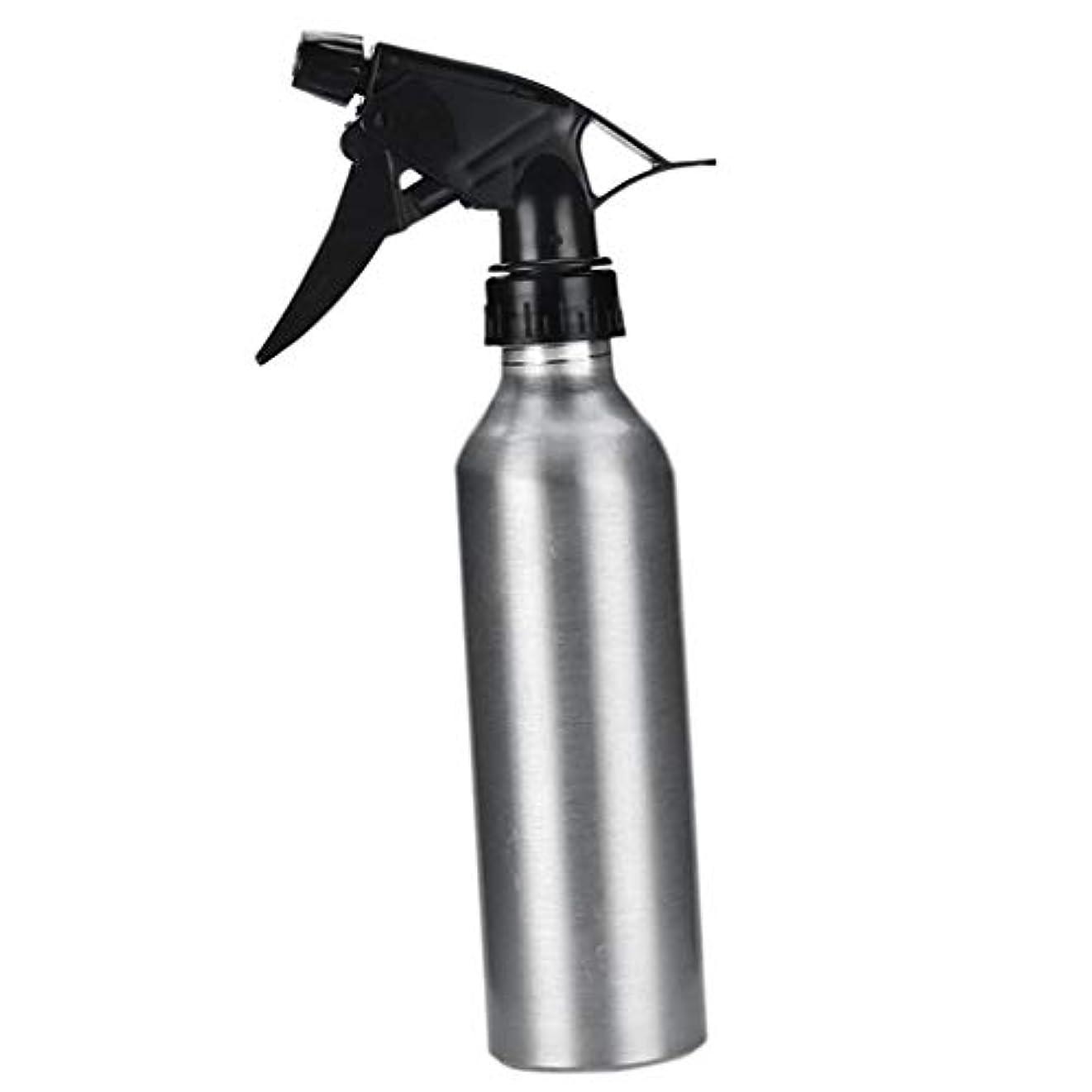 一見矢空DYNWAVE アルミ スプレーボトル 化粧品ボトル 霧吹き 詰め替え容器 漏れ防止 園芸料理用美髪師用噴霧器全2色 - 銀