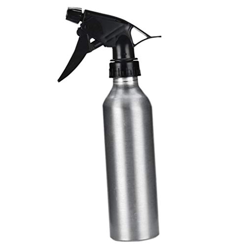市長拳スポンジアルミ スプレーボトル 化粧品ボトル 霧吹き 詰め替え容器 漏れ防止 園芸料理用美髪師用噴霧器全2色 - 銀