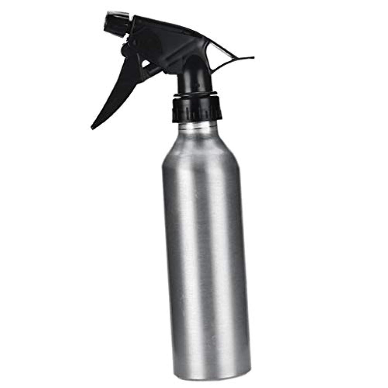 トランク垂直キロメートルDYNWAVE アルミ スプレーボトル 化粧品ボトル 霧吹き 詰め替え容器 漏れ防止 園芸料理用美髪師用噴霧器全2色 - 銀