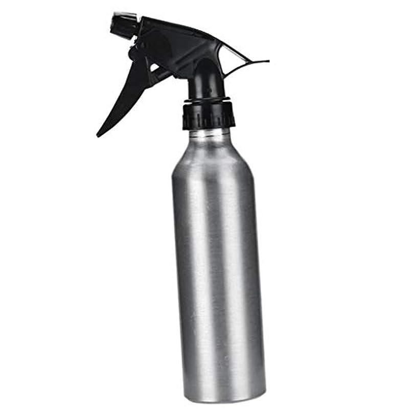 インストール不信一時停止アルミ スプレーボトル 化粧品ボトル 霧吹き 詰め替え容器 漏れ防止 園芸料理用美髪師用噴霧器全2色 - 銀