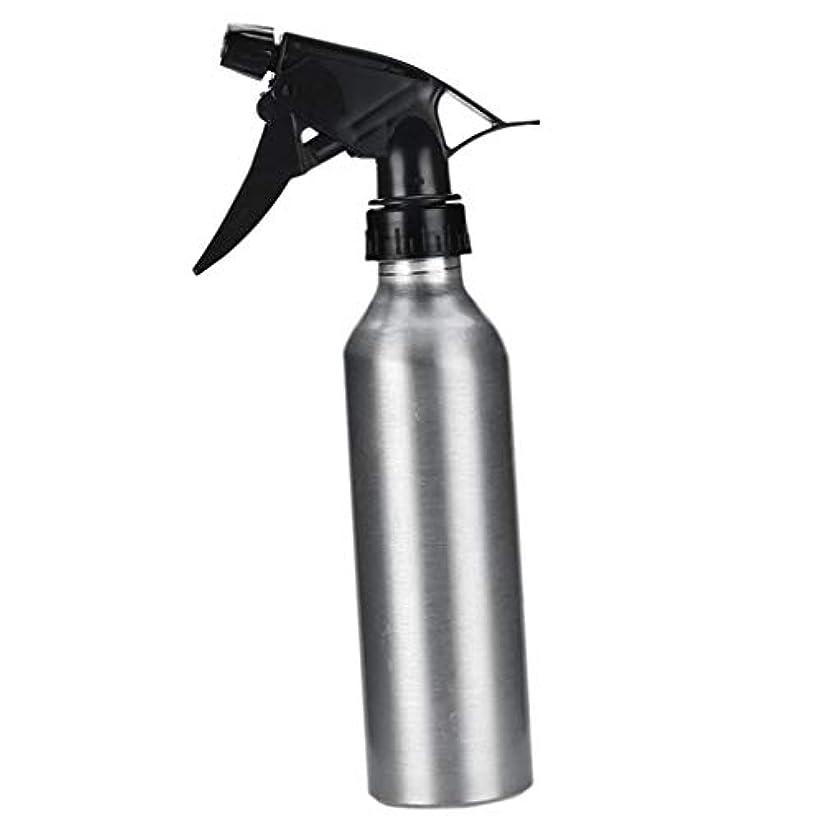 本質的にリースせがむアルミ スプレーボトル 化粧品ボトル 霧吹き 詰め替え容器 漏れ防止 園芸料理用美髪師用噴霧器全2色 - 銀