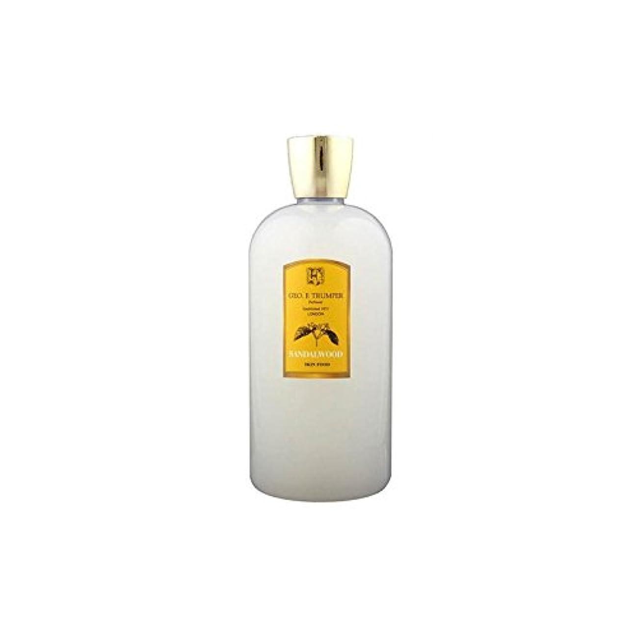 比較こっそり噴出するTrumpers Sandalwood Skin Food - 500ml Travel (Pack of 6) - サンダルウッドスキンフード - 500ミリリットル旅 x6 [並行輸入品]