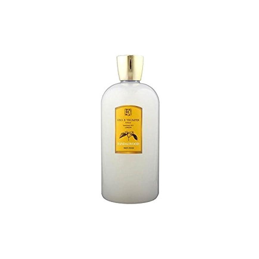 憎しみ強化するコジオスコTrumpers Sandalwood Skin Food - 500ml Travel (Pack of 6) - サンダルウッドスキンフード - 500ミリリットル旅 x6 [並行輸入品]