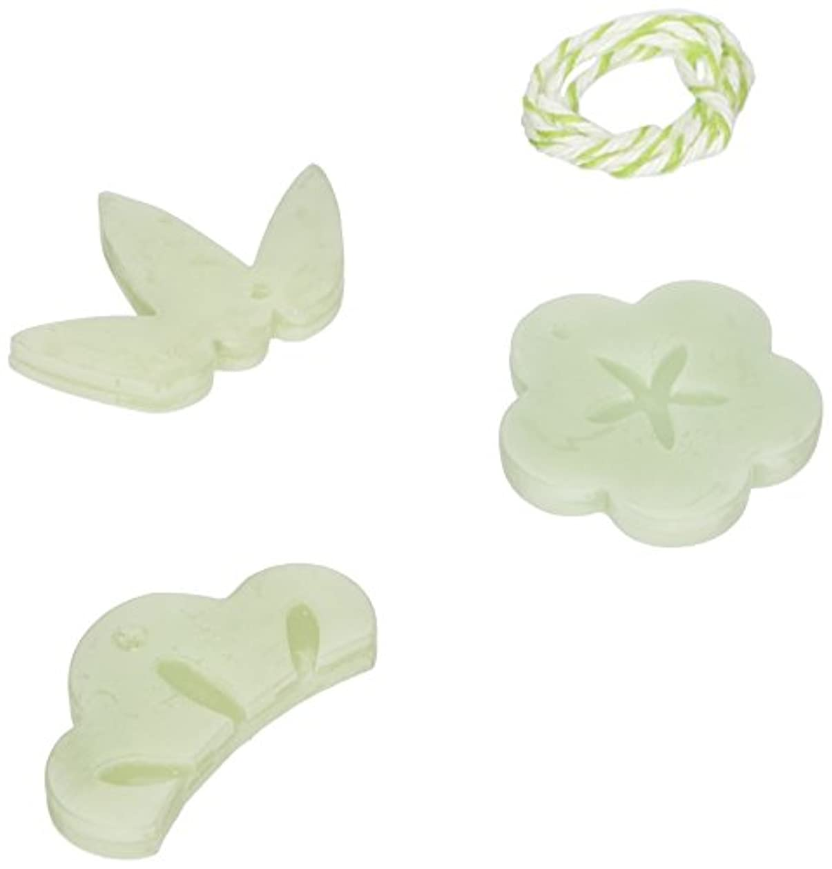 失う剥離調整可能GRASSE TOKYO AROMATICWAXチャーム「松竹梅」(GR) レモングラス アロマティックワックス グラーストウキョウ