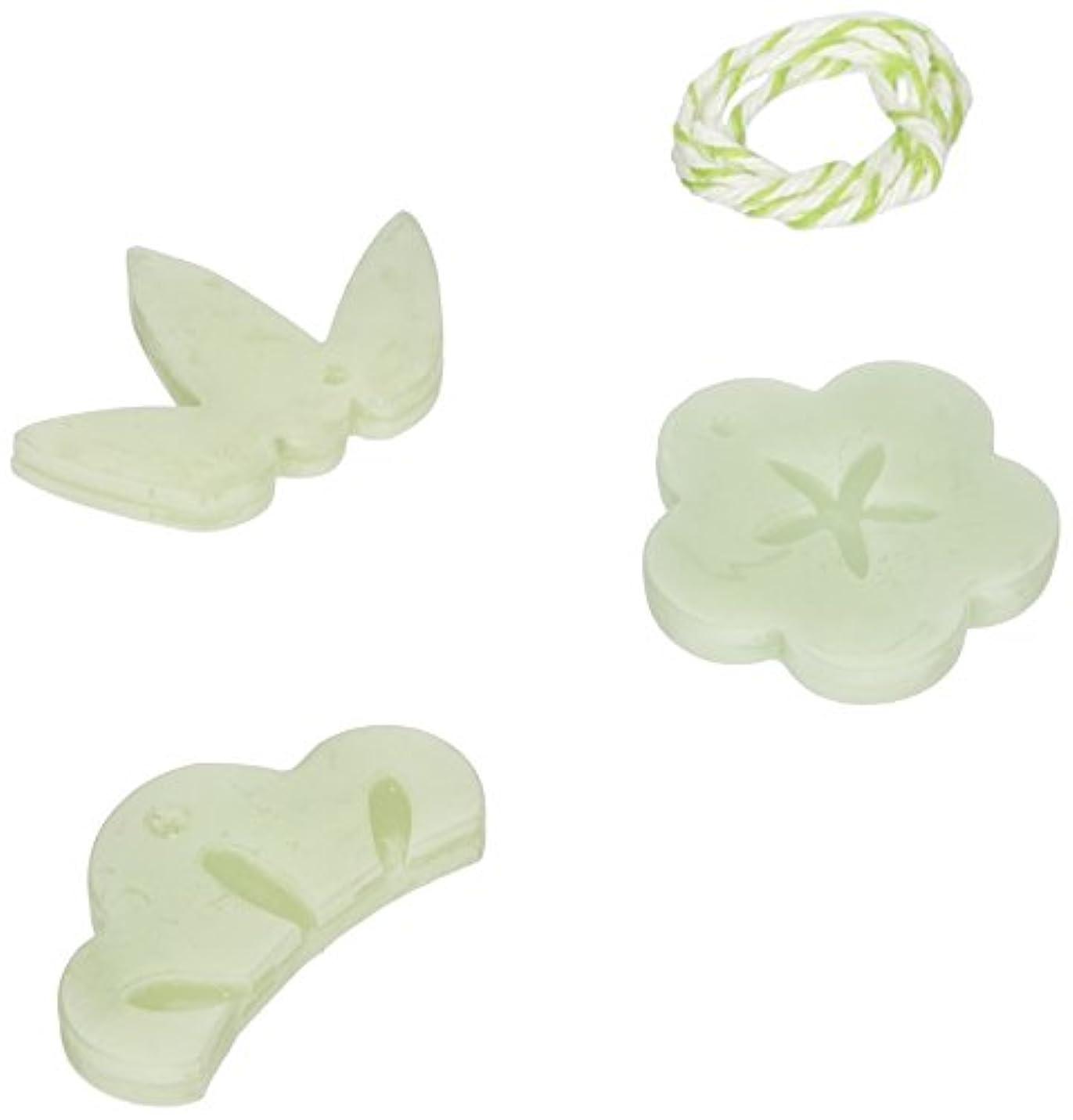 弾薬パパ概念GRASSE TOKYO AROMATICWAXチャーム「松竹梅」(GR) レモングラス アロマティックワックス グラーストウキョウ