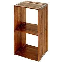 ACME Furniture TROY OPEN SHELF S 棚 シェルフ 木製 ブラウン トロイオープンシェルフ エス journal standard