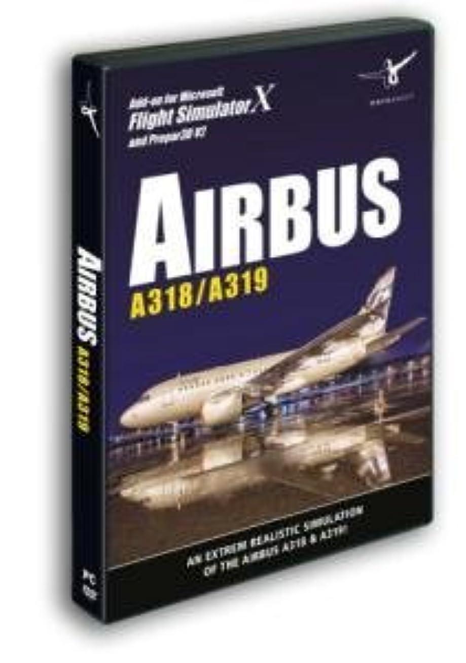 矛盾反発する瞑想Airbus A318/A319 (PC DVD) (輸入版)