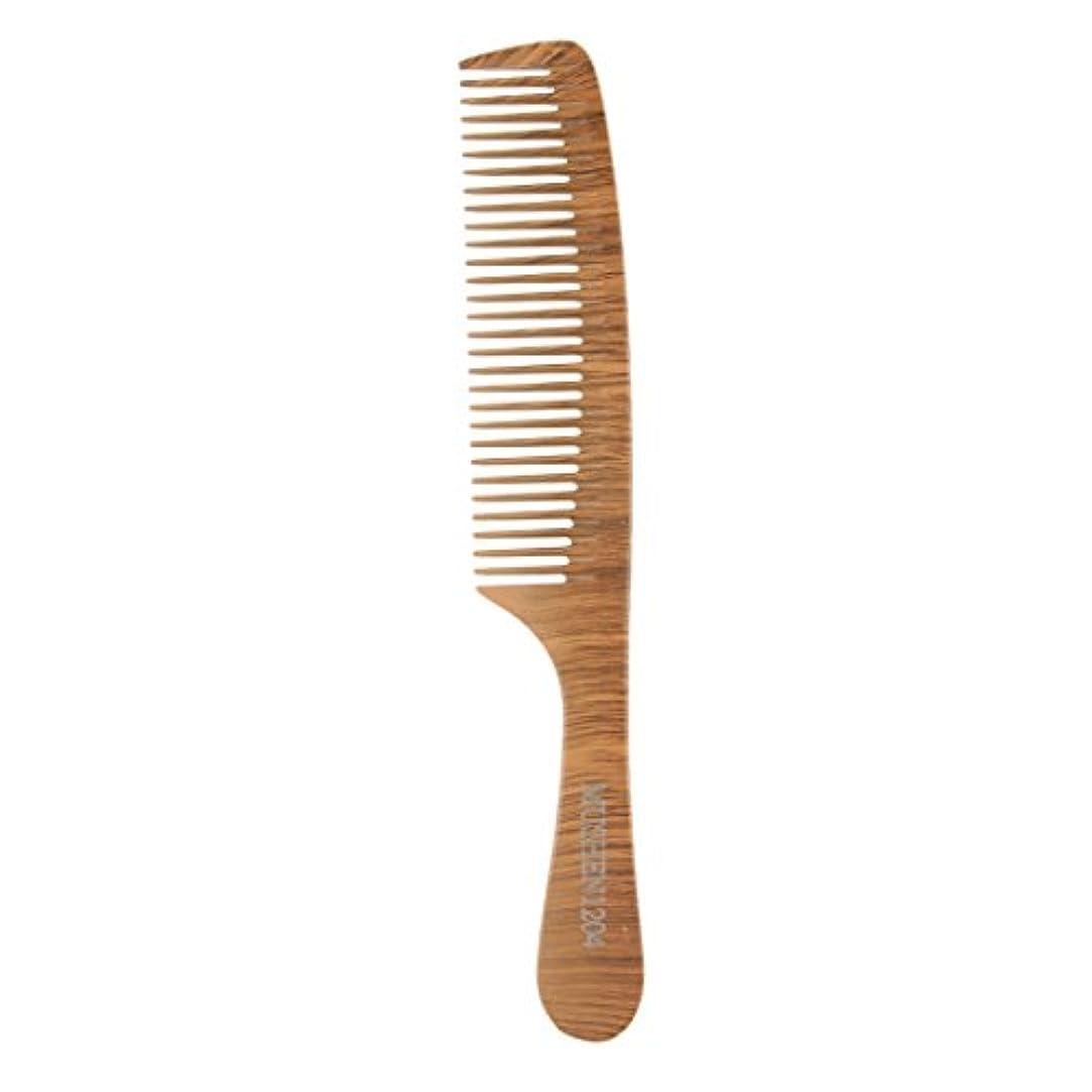完了作る相互接続木の理髪のスタイリングの櫛、大広間およびホテルのヘアケアツールのための頑丈な細かい歯の毛の櫛 - 1204
