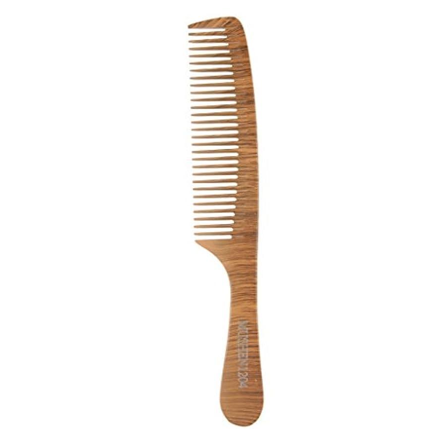 苛性厚くする哲学者木の理髪のスタイリングの櫛、大広間およびホテルのヘアケアツールのための頑丈な細かい歯の毛の櫛 - 1204
