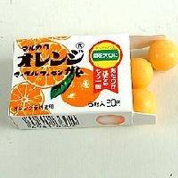 マーブルガム オレンジ味大箱