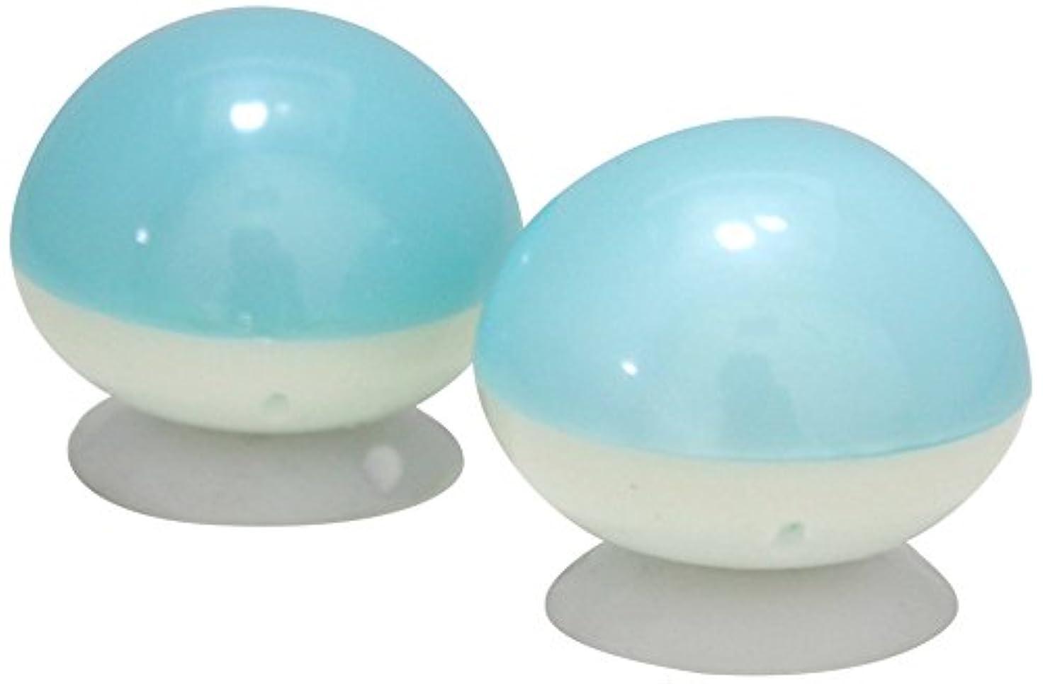 努力する解明するカバーお風呂 マッサージ 首 足 ツボ押し 指圧 球 こりないくん (2個組)