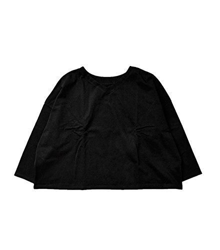 (ナル)NARU 2wayデラヴェジャージプルオーバー 1 ブラック(col.04) 626220-1-04