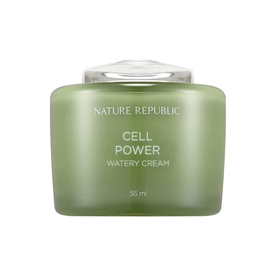押し下げるペイントNature Republic Cell Boosting Watery Cream 55ml / ネイチャーリパブリックセルブースティングウォーターリークリーム 55ml [並行輸入品]