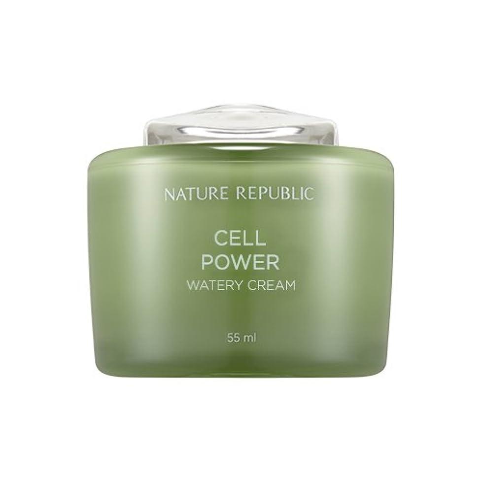 溢れんばかりの最愛のコロニーNature Republic Cell Boosting Watery Cream 55ml / ネイチャーリパブリックセルブースティングウォーターリークリーム 55ml [並行輸入品]