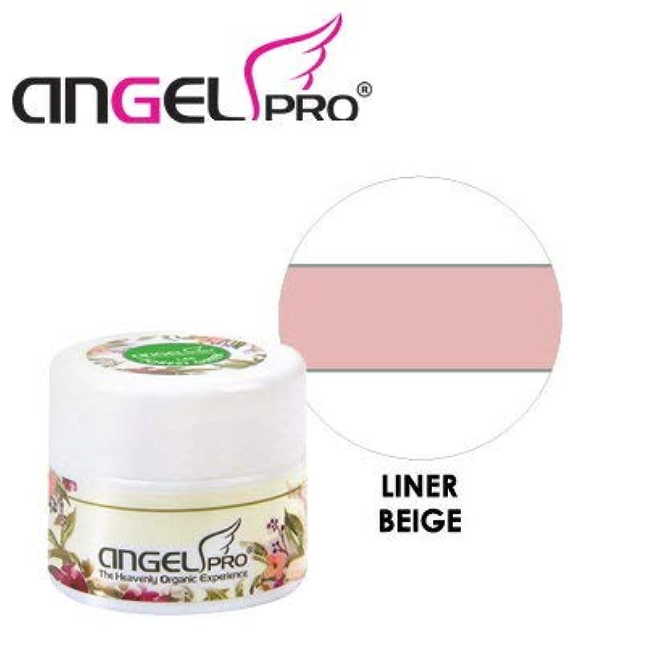 批評活性化する麻痺ANGEL PRO ポットジェリー LINER BEIGE 4g