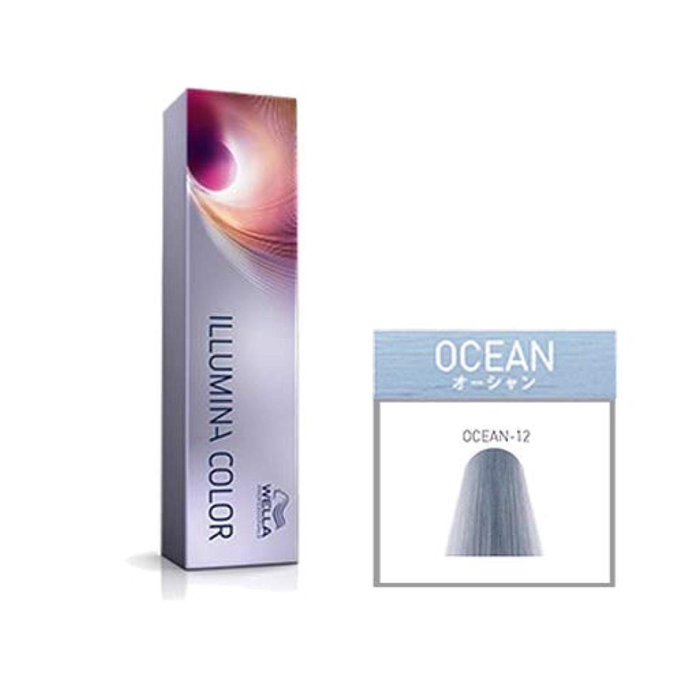 安らぎ切り離す競うウエラ プロフェッショナル イルミナ カラー オーシャン OCEAN-12 80g
