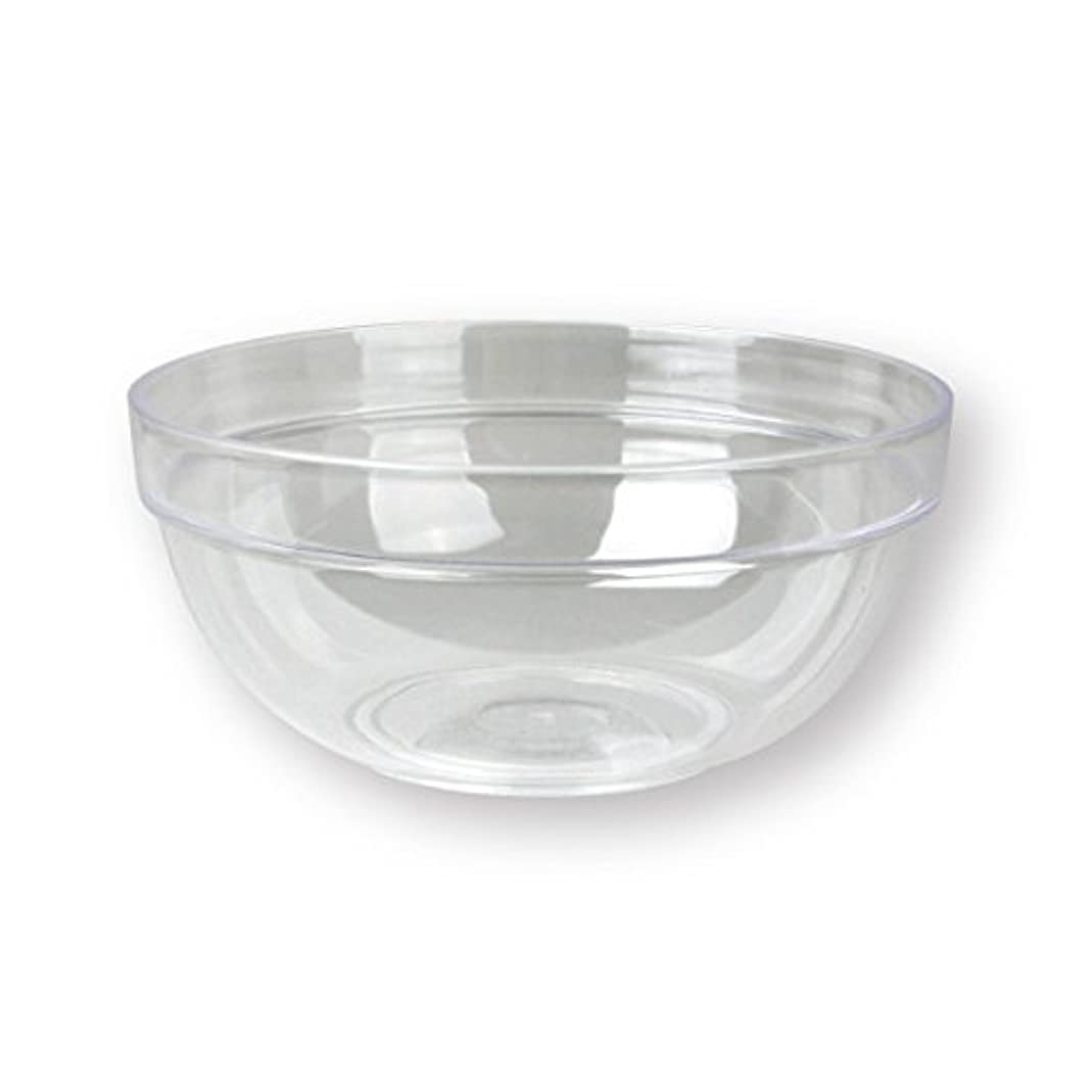 目指す害虫気付く4個セットプラスチックボール プラスチック ボウル カップクリア 直径20cm