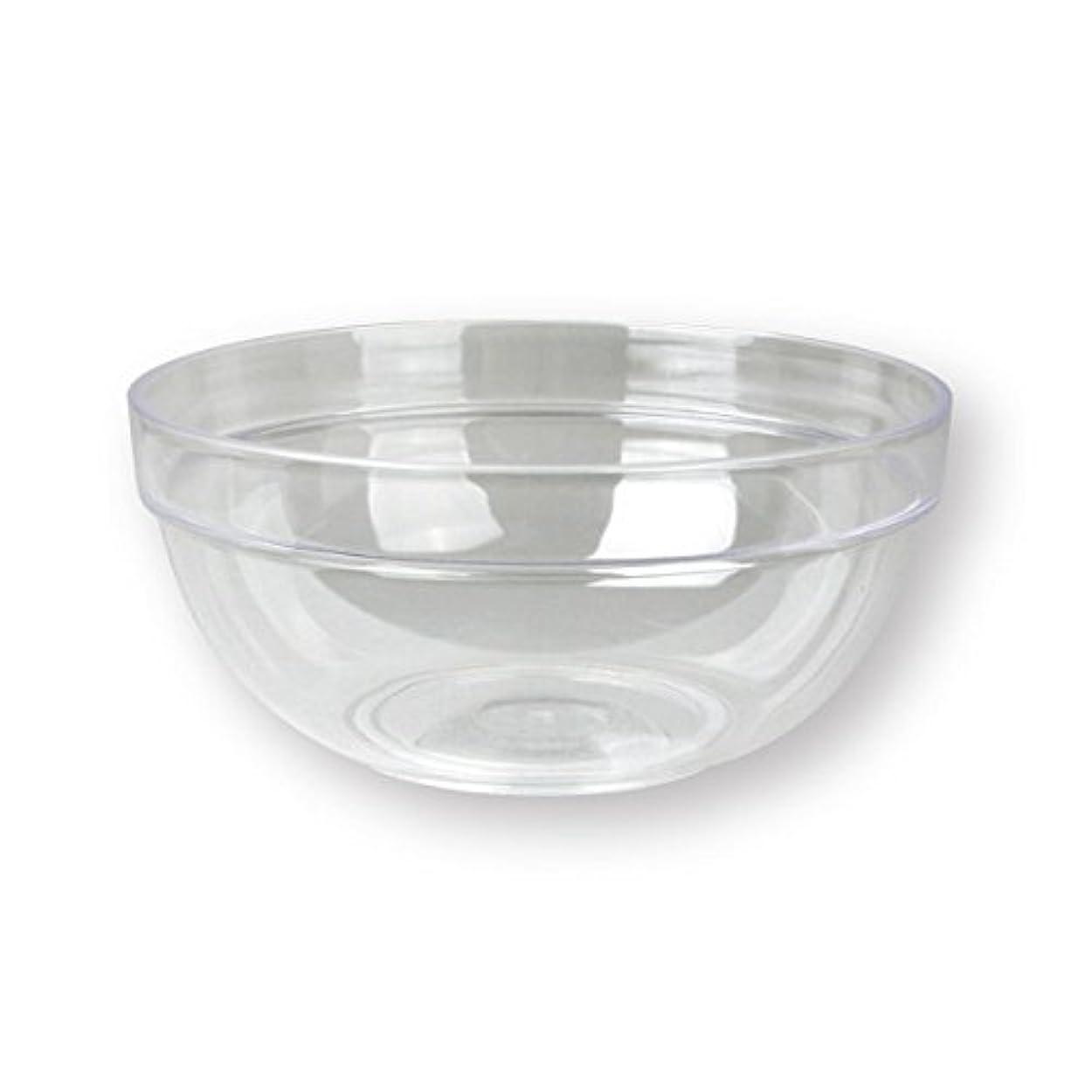 準備したリテラシー悪用4個セットプラスチックボール プラスチック ボウル カップクリア 直径20cm