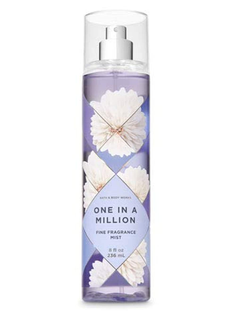 早いラケット落花生【Bath&Body Works/バス&ボディワークス】 ファインフレグランスミスト ワンインアミリオン Fine Fragrance Mist One in a Million 8oz (236ml) [並行輸入品]