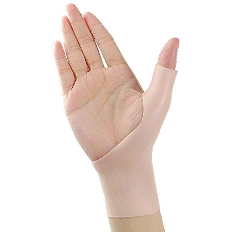 ビヨンマルクス主義者介入する手首サポーター 腱鞘炎 サポーター 手首 親指 腱鞘炎 手首サポーター 手首 サポーター レディース テーピング サポーター 手首 腱鞘炎 腱鞘サポーター (ベージュ) 2個
