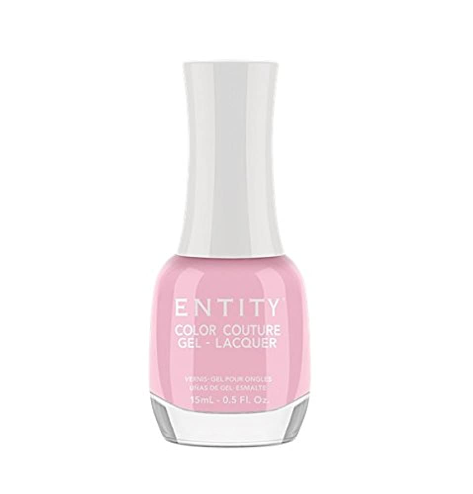 ディスコうぬぼれトレイルEntity Color Couture Gel-Lacquer - Wearing Only Enamel & A Smile - 15 ml/0.5 oz