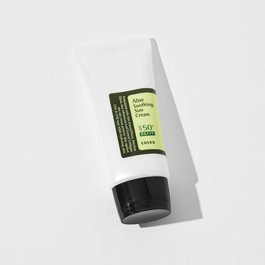 ホイッスル繊維ロボット[COSRX] Aloe Soothing Sun Cream 50ml / [COSRX] アロエ スーディング サンクリーム 50ml [並行輸入品]