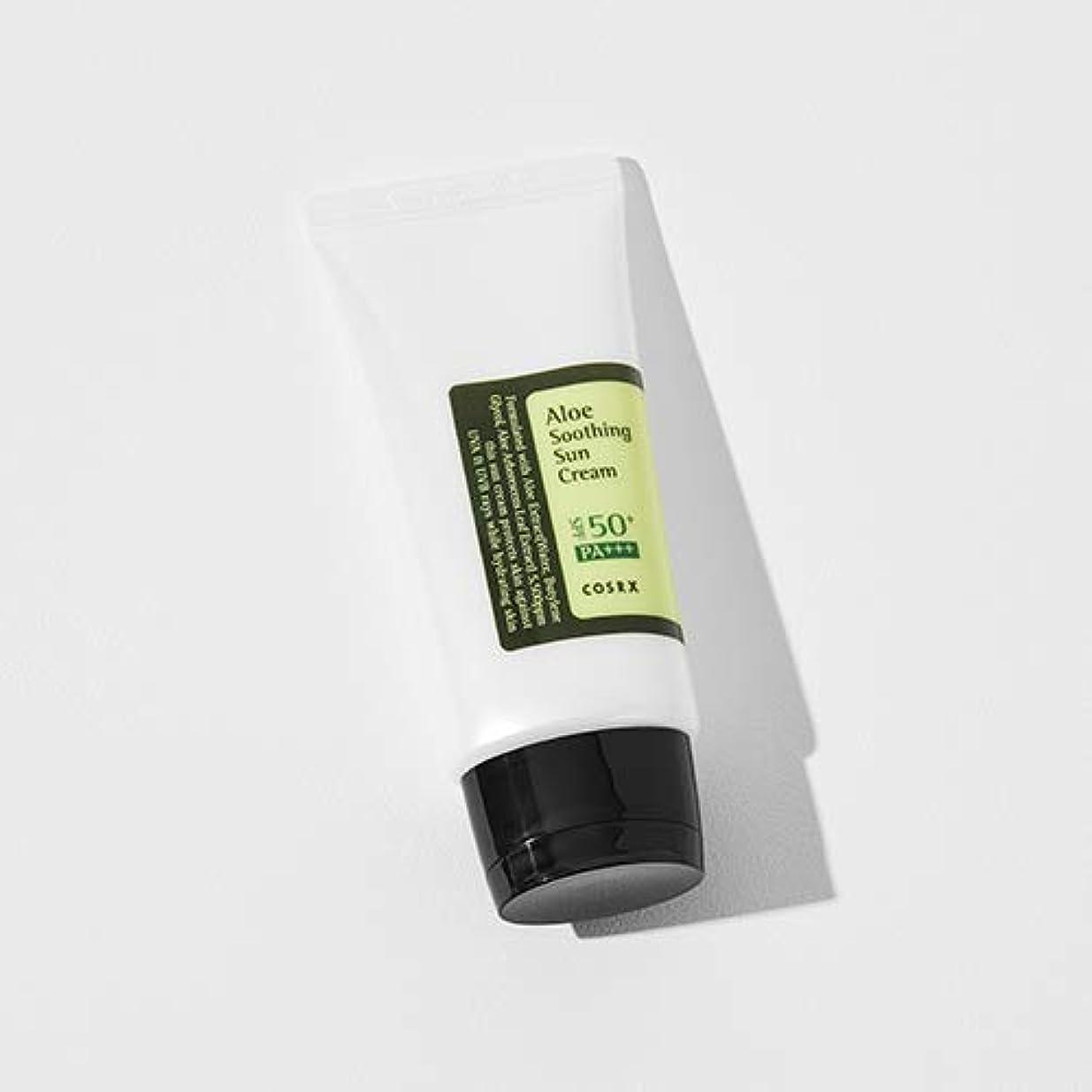 計算乗り出す振るう[COSRX] Aloe Soothing Sun Cream 50ml / [COSRX] アロエ スーディング サンクリーム 50ml [並行輸入品]