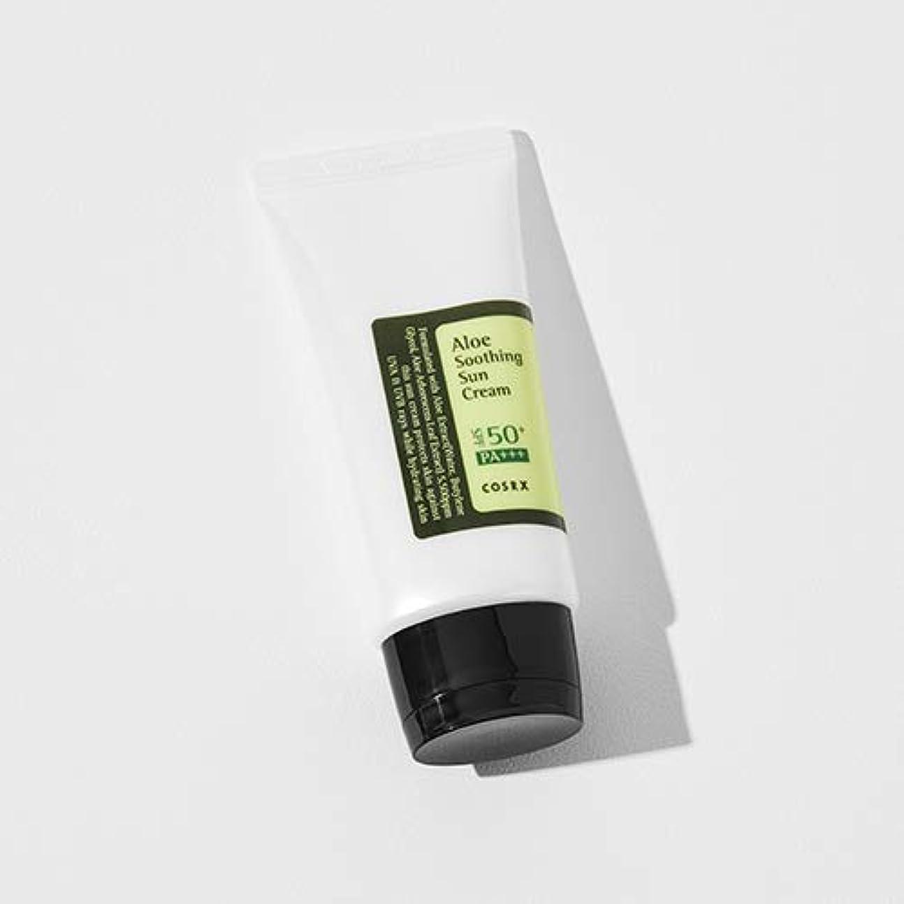 放映原子炉連続した[COSRX] Aloe Soothing Sun Cream 50ml / [COSRX] アロエ スーディング サンクリーム 50ml [並行輸入品]