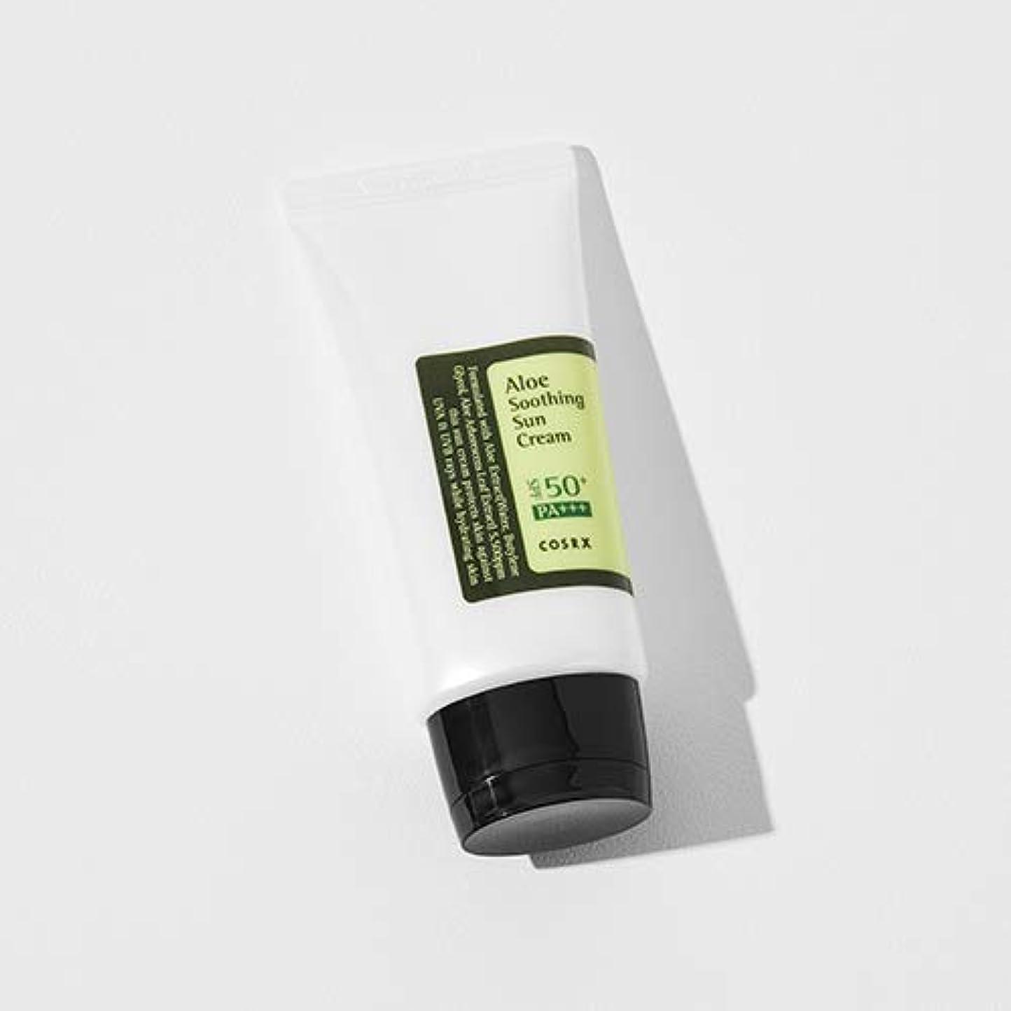 快適遺跡予感[COSRX] Aloe Soothing Sun Cream 50ml / [COSRX] アロエ スーディング サンクリーム 50ml [並行輸入品]