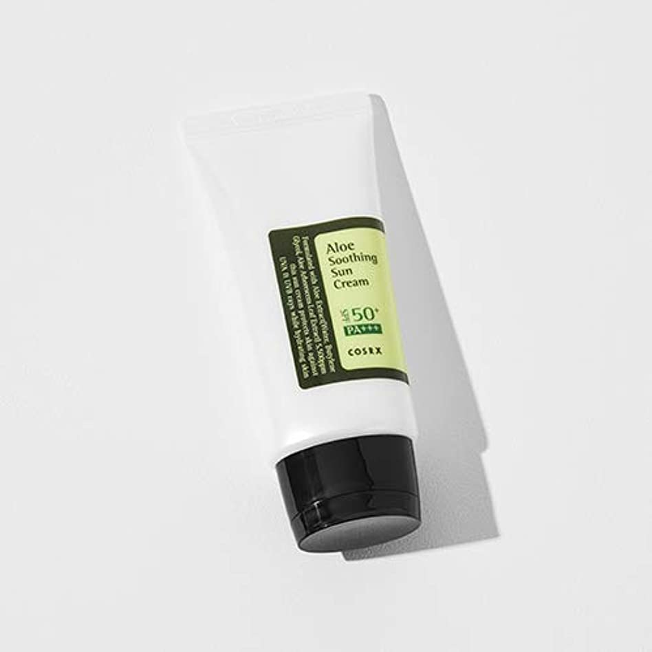 歩くペグカテナ[COSRX] Aloe Soothing Sun Cream 50ml / [COSRX] アロエ スーディング サンクリーム 50ml [並行輸入品]