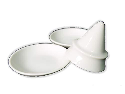 盛り塩固め器 塩盛セット小 円錐タイプ 皿 2枚付