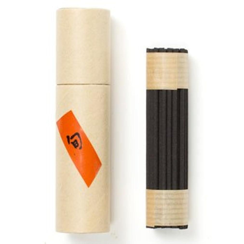 拘束する木製定常旬 徳用品 50本入 紙筒入 お香 70mm 松栄堂