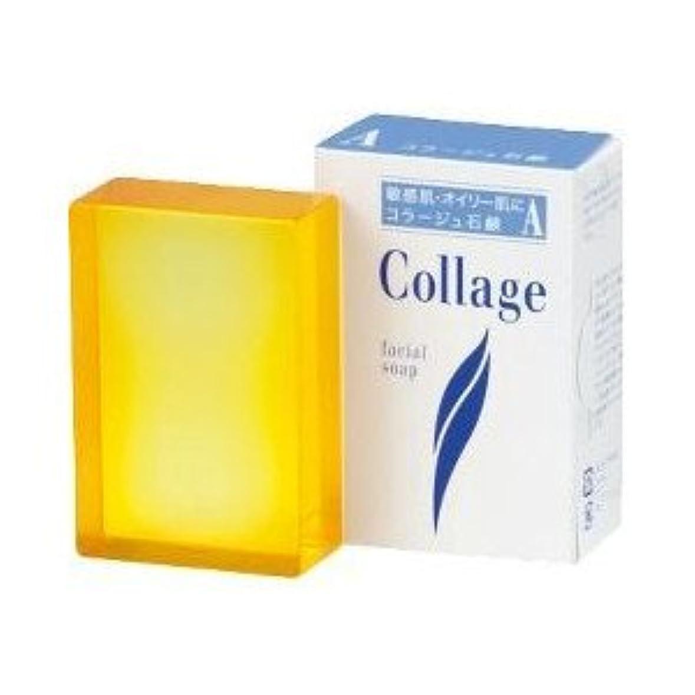 オーク補足風味(持田ヘルスケア)コラージュA脂性肌用石鹸 100g(お買い得3個セット)