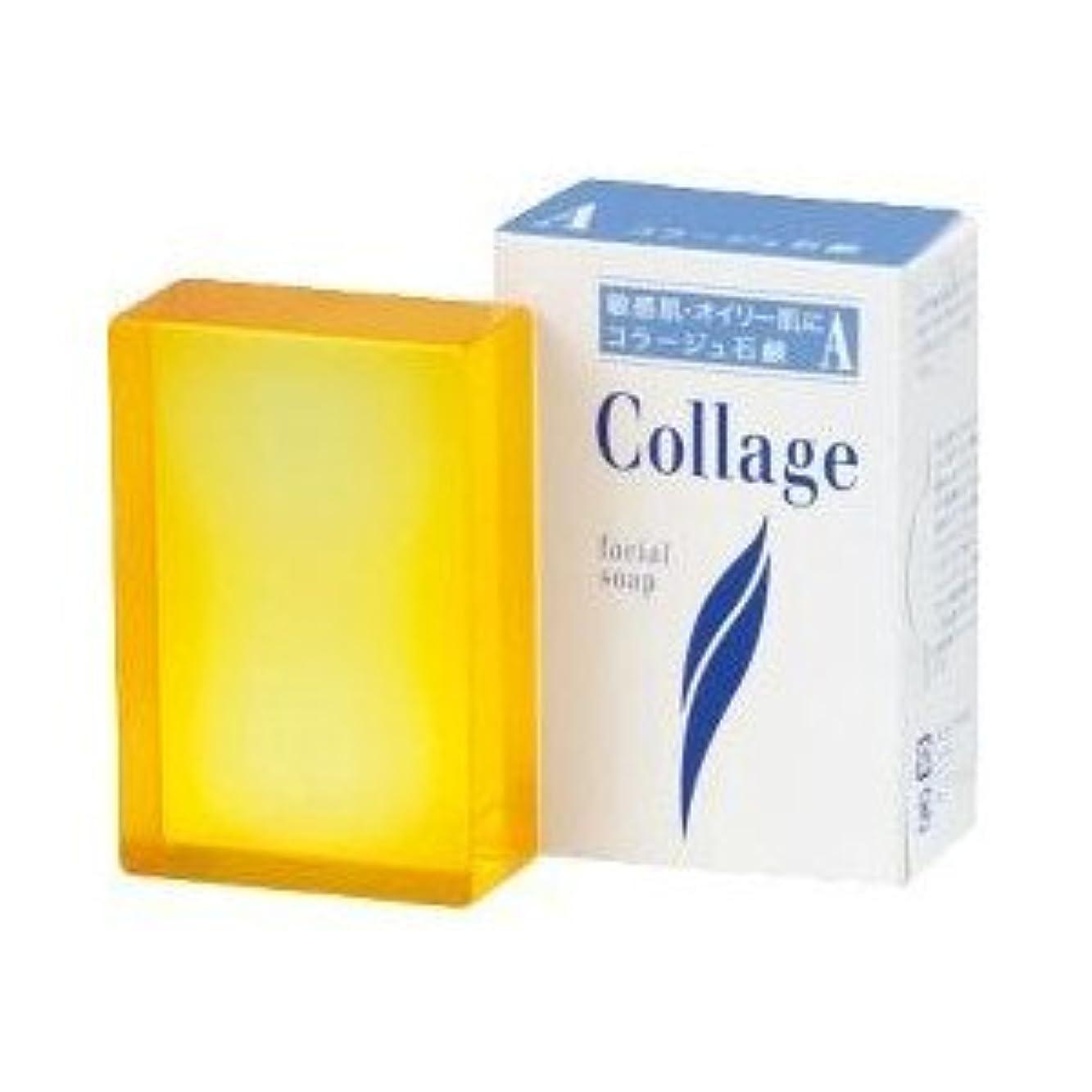 消費する衝突するスケート(持田ヘルスケア)コラージュA脂性肌用石鹸 100g(お買い得3個セット)