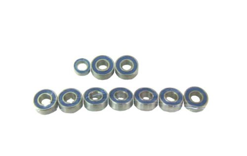 ラバーシールベアリングセット (DT02・ホーネット・グラスホッパー・パンプキン・ランチボックス) 1150×9 850×1 RS-012