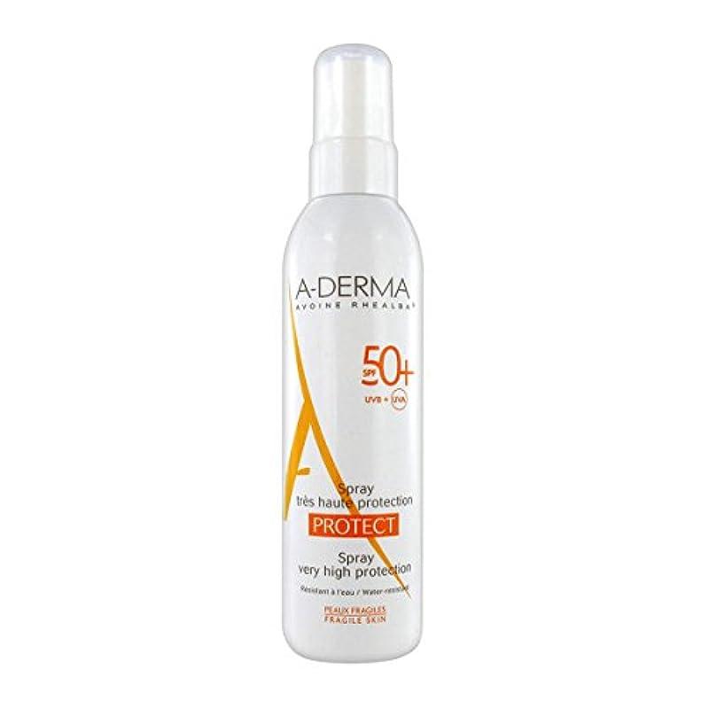 とても多くのシャベル水陸両用A-derma Protect Spray Spf50+ 200ml [並行輸入品]