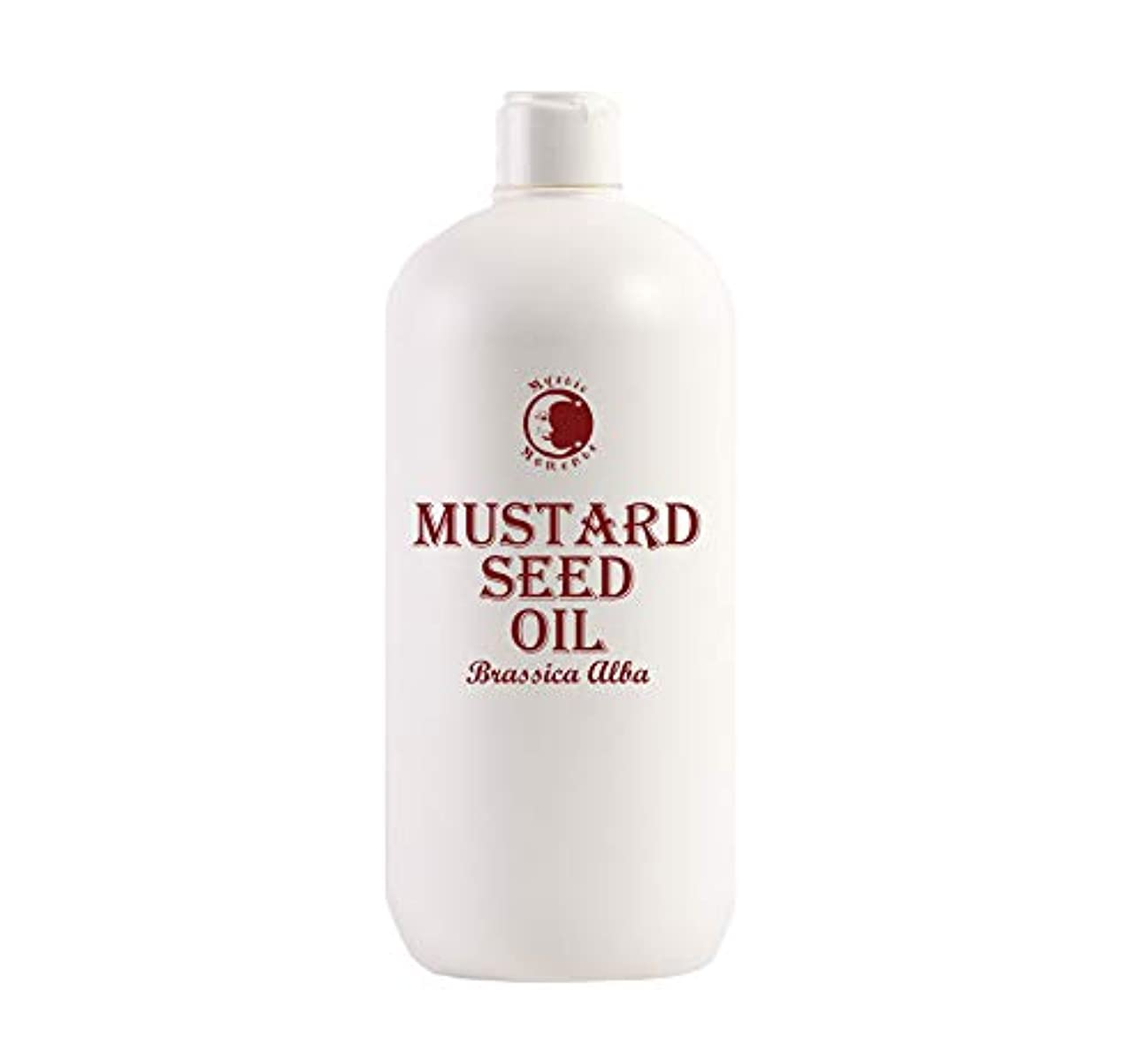 不純寄付する情熱Mystic Moments | Mustard Seed Carrier Oil - 1 Litre - 100% Pure
