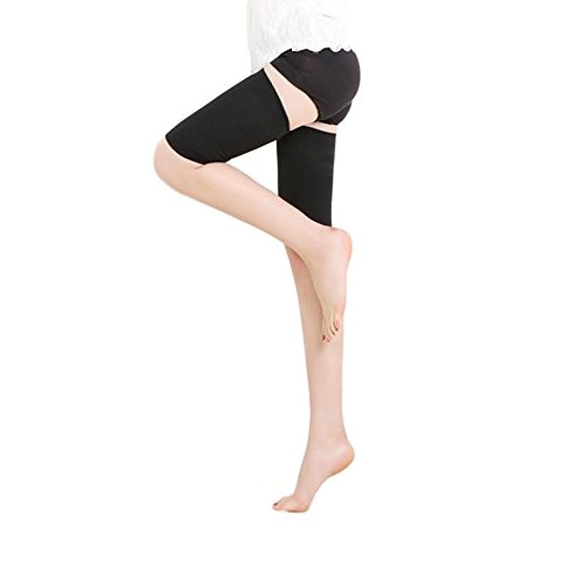 コンパクト化粧備品MEJORMEN 加圧 太ももサポーター 着圧ソックス 段階式圧力設計(30-40mmHg) 痩せ 筋肉質 美脚ケア 保温 通気性 太ももの疲れ?むくみ解消 1足 男女兼用 2色 M~XL