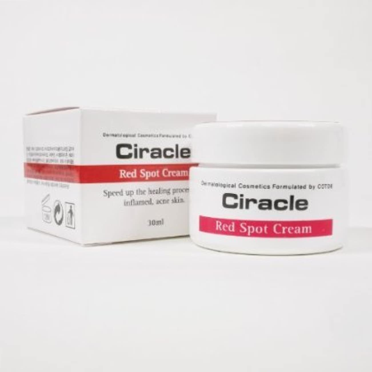 解明するバランス疫病Ciracle レッド スポット クリーム /Red Spot Cream (30ml )