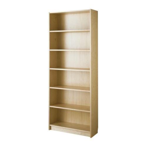 イケア BILLY 書棚 バーチ材突き板 W80xD28xH202 IKEA