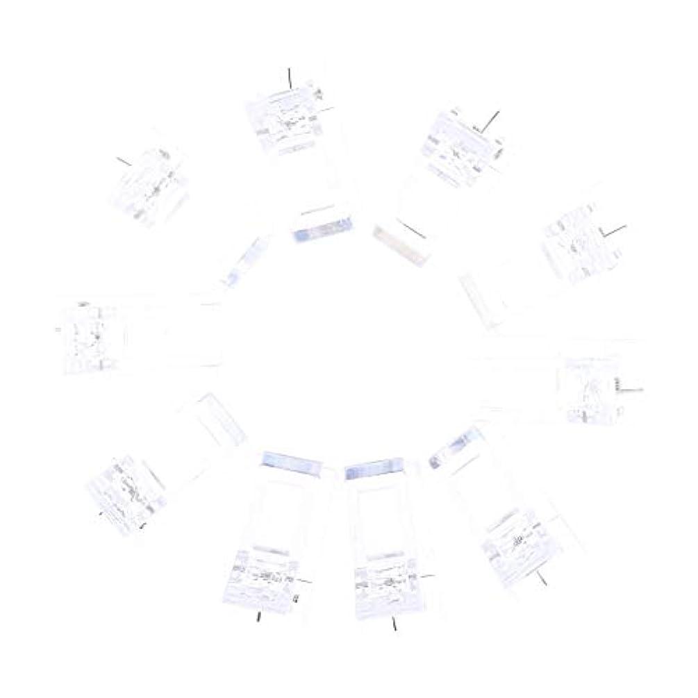 キリマンジャロ科学者退屈Perfeclan ネイルクリップ ネイル固定クリップ ネイルチップ ネイルアート UVゲルビルダツール 10個入り