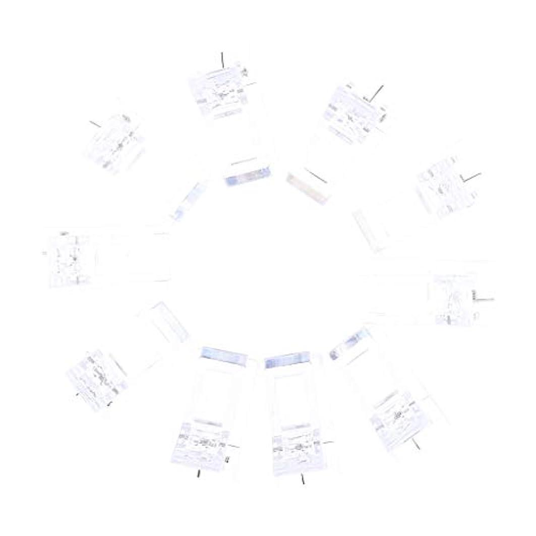 ヶ月目関連付けるストレッチネイルクリップ ネイル固定クリップ ネイルチップ ネイルアート UVゲルビルダツール 10個入り