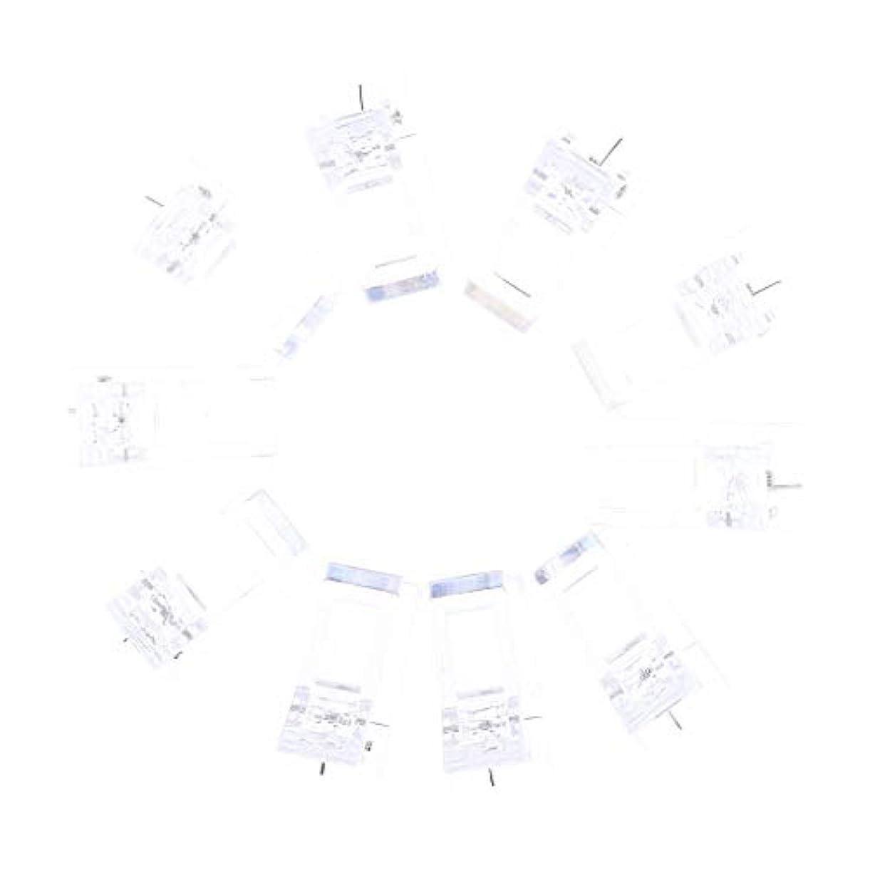 失業者部族ボイコットIPOTCH 10個セット ジェルネイル エクステンションクリップ ネイルチップ用 プラスチック クリップ