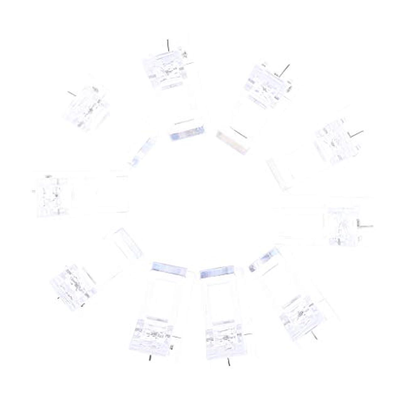 ミント反応するIPOTCH 10個セット ジェルネイル エクステンションクリップ ネイルチップ用 プラスチック クリップ