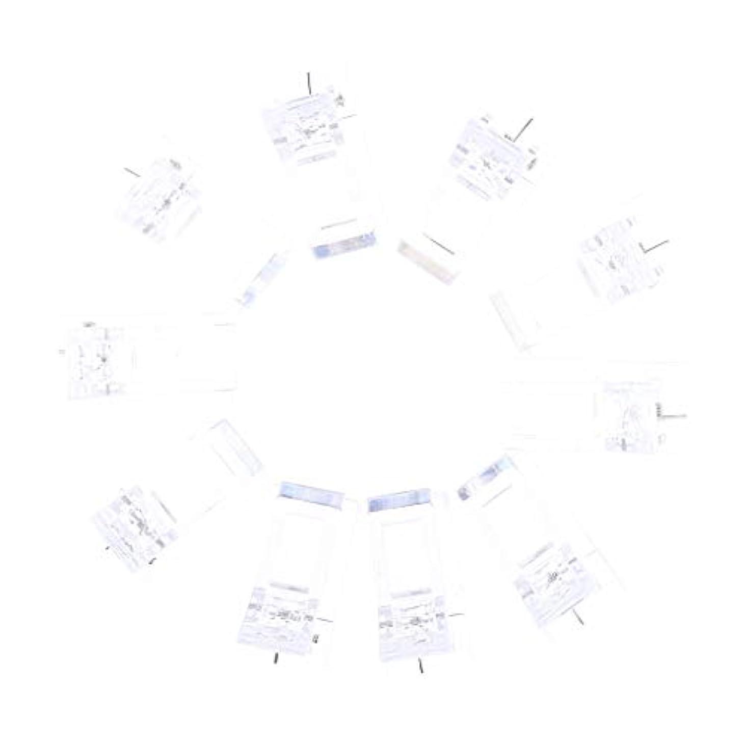 応じる口径永遠にネイルクリップ ネイル固定クリップ ネイルチップ ネイルアート UVゲルビルダツール 10個入り